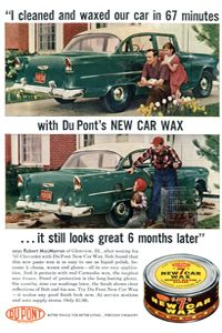 The early days of car wax advertised some dubious claims.
