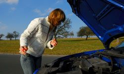 Start getting your car ready for foul weather by checking fluid levels.