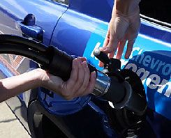 Check out this hydrogen fuel station!