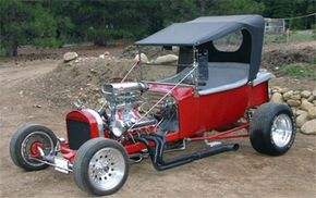"The ""split-wishbone"" design of the 1923 T-bucket made it a popular hot rod."