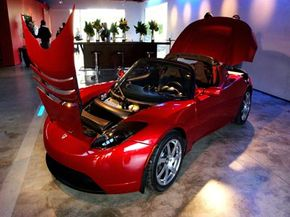 The 2009 Tesla Roadster is a zero emission vehicle (ZEV).