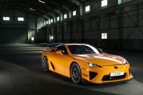 The 2012 Lexus LFA Nurburgring Package