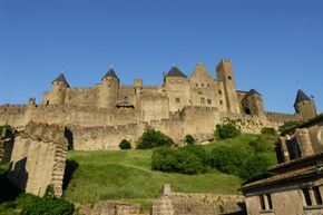 The fortified city of Carcassonne inspired a gaming revolution.