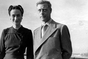 Edward, Duke of Windsor and his wife the Duchess of Windsor in 1945