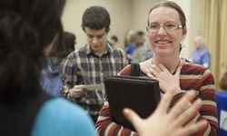 How can your career fair leave them smiling?