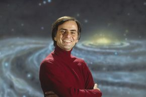 """Sagan co-developed and hosted the hit show """"Cosmos: A Personal Voyage."""""""