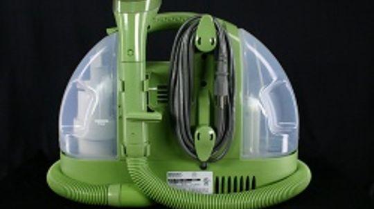 Inside a Handheld Carpet Cleaner