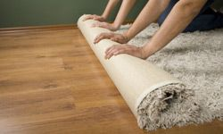 It helps to know how a carpet is held together.