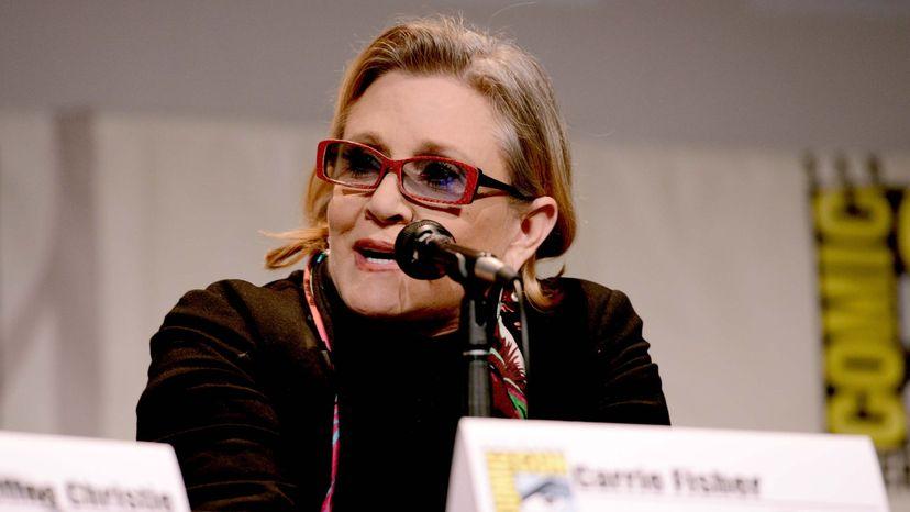 Carrie Fisher, Last Jedi