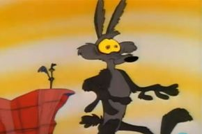 Wile E. Coyote's tendency to hover in midair long enough for a reaction shot before falling is NOT an example of real physics.