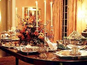Photo courtesy Joel                              Using a caterer for a dinner party at your home gives you more time to spend with your guests.