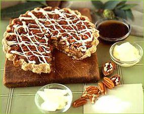 Joel's famous White Chocolate Pecan Pie