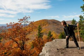 There are enough challenging portions of the Catskills to satisfy experienced hikers.