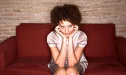 Hormonal fluctuations in a woman's body may cause mood swings.
