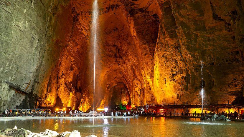 Tenglong Cave, China
