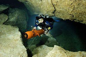 A diver propulsion vehicle.