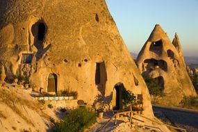 The cave dwellings of Cappadocia