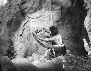 Image Gallery: Caves Who knew they had cameras back then? See more pictures of caves.
