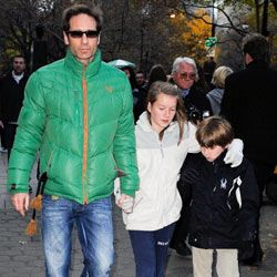 Apparently David Duchovny and Téa Leoni's son, Kyd, doesn't appreciate his name much and insists on going by his middle name, Miller.