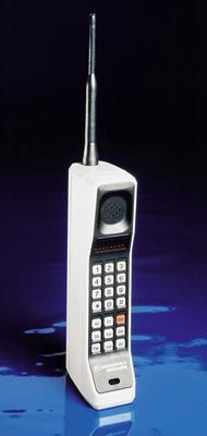 Analog cell phones were born in 1983 when the FCC approved the AMPS standard.