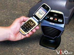 Near-field communication lets users redeem coupons and pay using their cell phone.