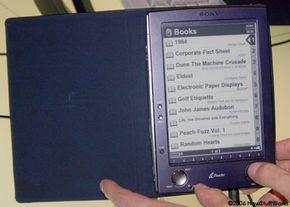 Sony's new portable reader.