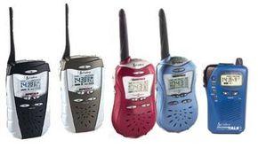 Two-way radios in the Cobra micro TALK™ line