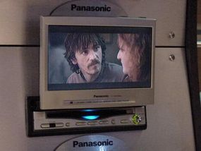 Panasonic in-car DVD systems
