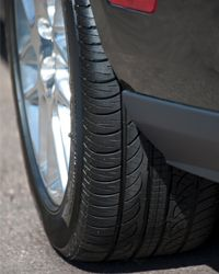 A manufacturer's estimate on how long a tire should last is based on their testing and not always on real-world conditions.