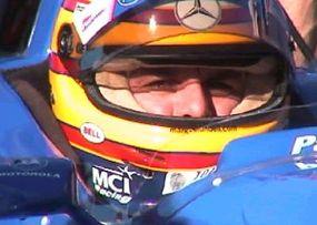 Mark Blundell in the Motorola Champ Car