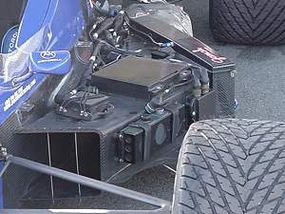 Electronics on the driver's left