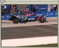 Watch the team replace all four tires, add 35 gallons of methanol to the fuel cell and make any needed chassis adjustments during this 12-second pit stop!