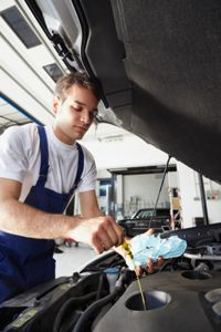 It's a good idea to occasionally inspect the clarity of your engine's oil.