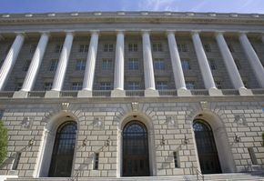 U.S. Internal Revenue Service building stands tall in Washington, D.C.