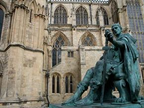 Emperor Constantine.