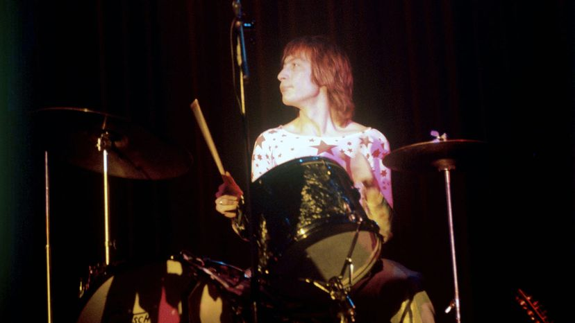 Charlie Watts of the Rolling Stones