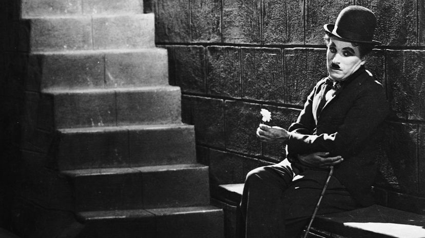 """Charlie Chaplin, pictured here as his character The Tramp in the 1931 film """"City Lights,"""" had his corpse stolen from its grave and ransomed for cash. John Kobal Foundation/Getty Images"""