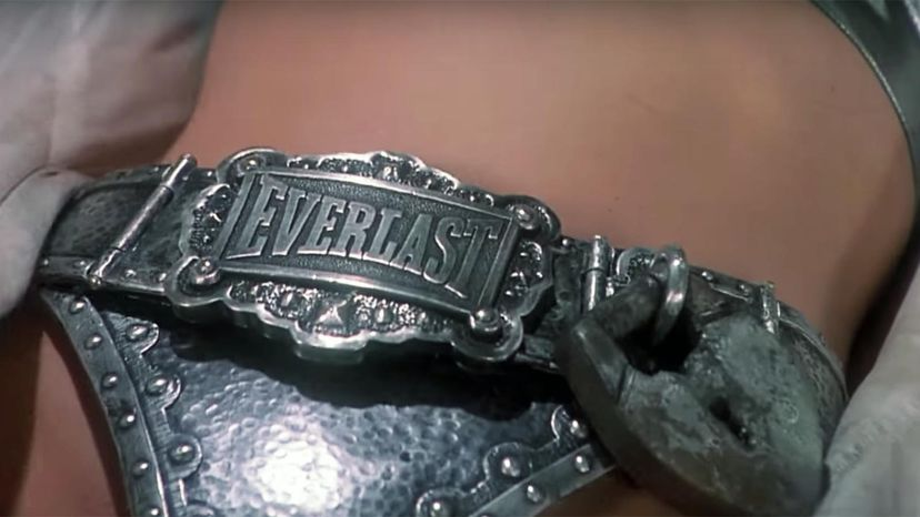 Everlast chastity belt