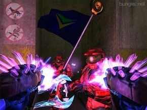 Cheating online in games like Halo 2 might get you banned, so cut it out!