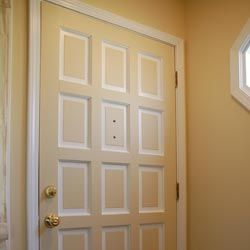 Even just focusing on a single door can change your outlook on a room.