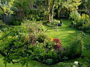 A tastefully landscaped yard can increase your home's worth by up to 11 percent. See our collection of famous garden pictures.