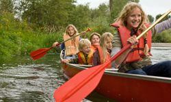 Canoeing in the mountains might not have been  your ideal, but it can still be amazing!