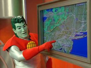 Yes, not even Captain Planet has a good handle on what the weather will bring. Ultimately, all meteorology can do is calculate, speculate and guess.