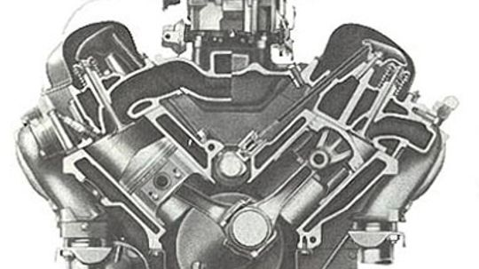 Chevy 348-cid V-8 Engine