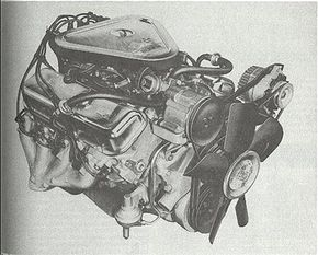 The first 454-cid Mark IV enlargement arrived for 1970. Shown is the 460-bhp LS-7 unit with 3x2 carbs.