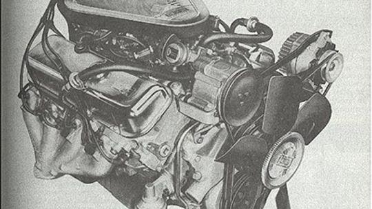 Chevy 454-cid V-8 Engine