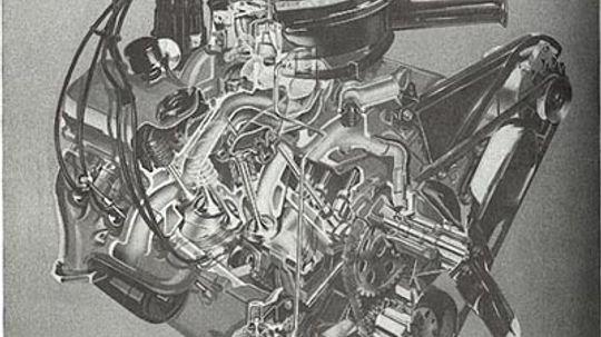 Chevy 427-cid V-8 Engine