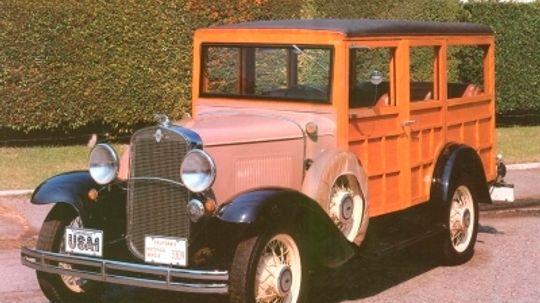 1931 Chevrolet Series AE Station Wagon