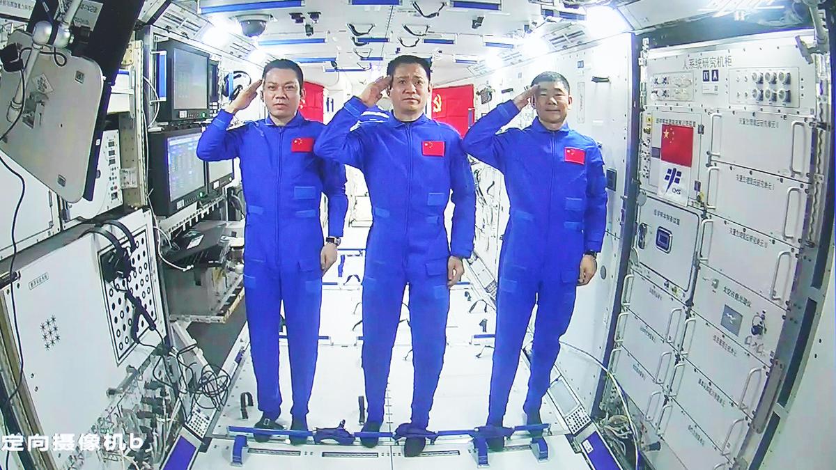 宇宙での中国の新しい「天国の宮殿」はISSにとって何を意味するのでしょうか?
