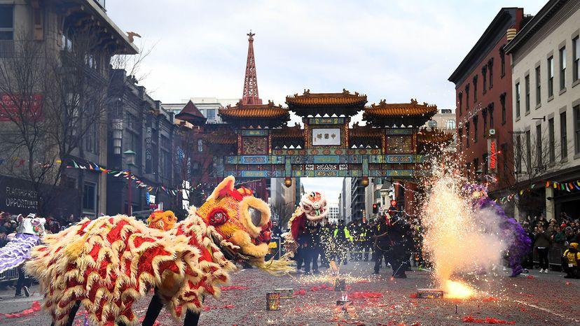 chinese new year celebration, D.C.